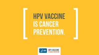 HPV vaccine to prevent cancer: A pediatrician's recommendation