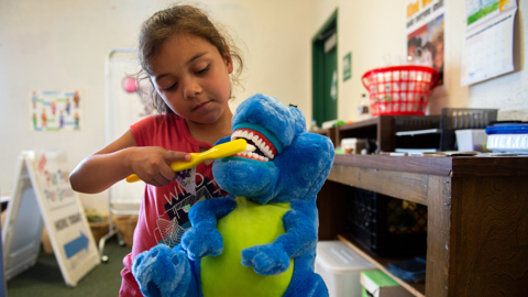 When your school is a health center. How clinics offer lifeline for uninsured kids