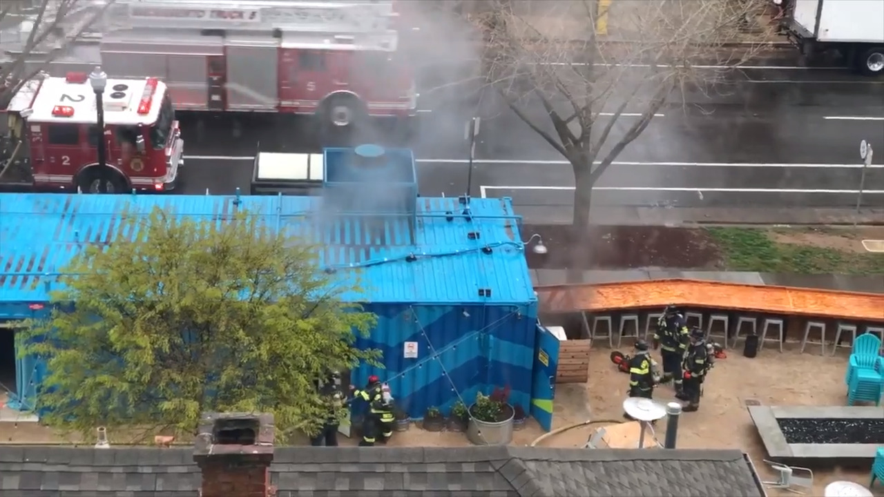 Golden Road Brewing Co. closed after fire Wednesday morning