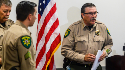 Watch press conference on shooting of El Dorado sheriff's deputy Brian Ishmael