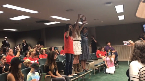 Anti-vaccine protesters disrupt California Assembly committee hearing with loud chants