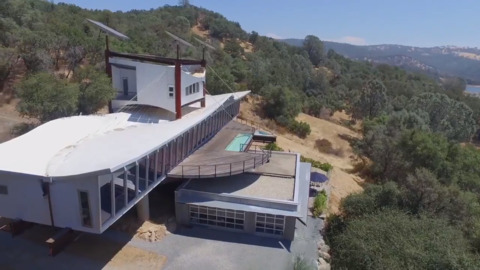 A Shipwreck House for $2.85M? You can find this architectural marvel near Folsom Lake