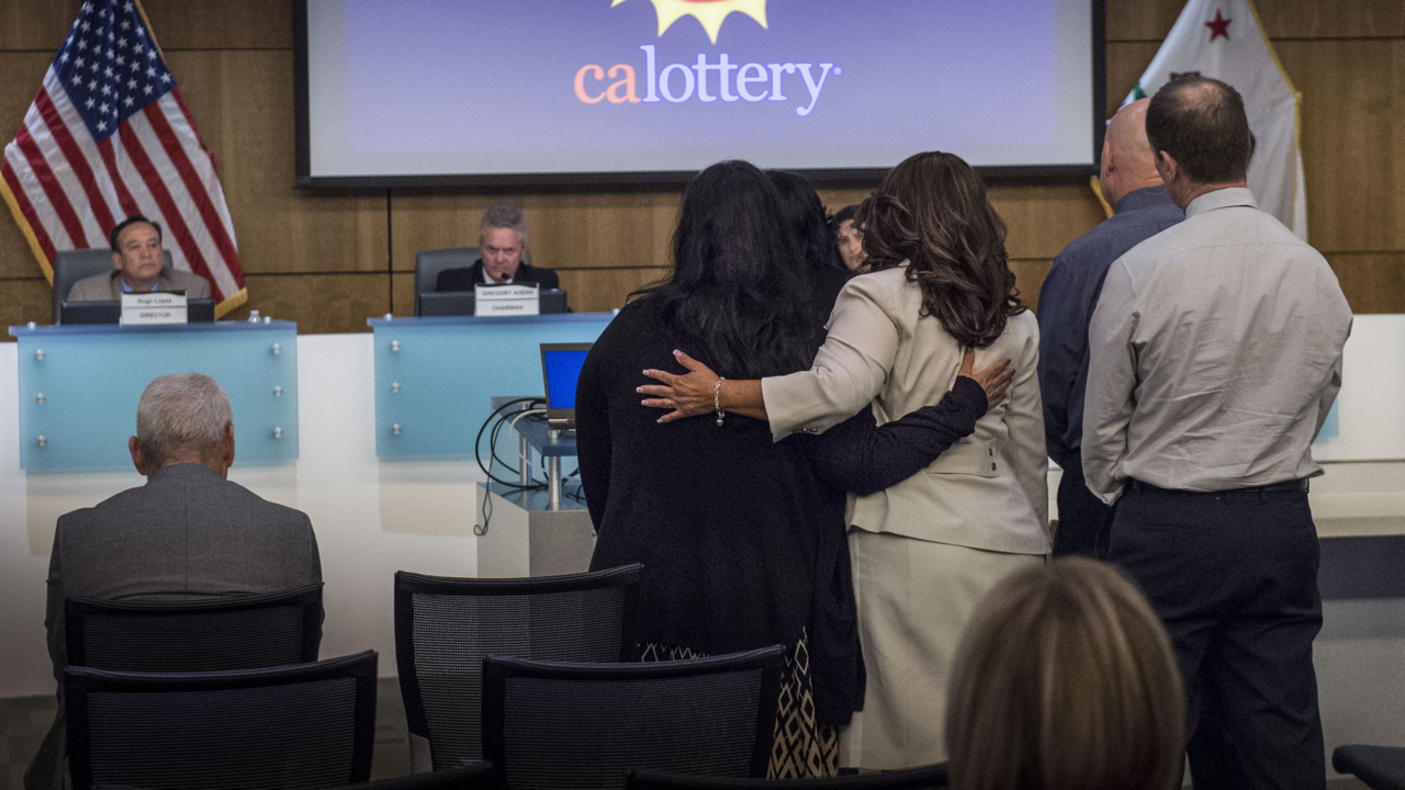 California Lottery official dismissed amid investigations