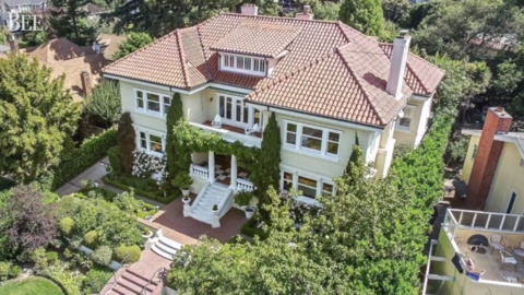 This Bay Area mansion originally built by Ghirardelli family is for sale