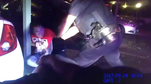 Video shows Rocklin cop beating unarmed DUI suspect. D.A. says images 'speak for themselves'