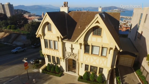 Gothic home in Russian Hill on market for $11 million. Nicolas Cage once owned it