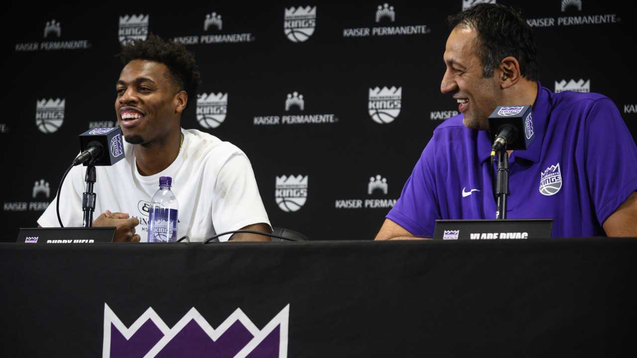 'I'm here as a King:' Buddy Hield happy with new $86 million contract with Kings