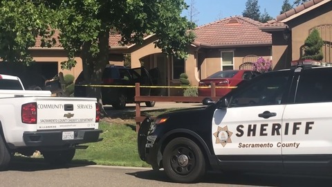 See scene after man shot 3 roommates in south Sacramento