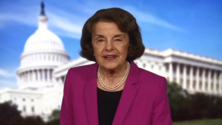 Dianne Feinstein comments on election results