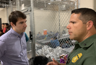 'A lot of kids are still in cages ...' Congressman visits immigrant detention centers