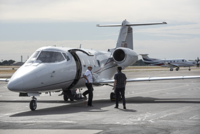 A small airline with some intriguing services moves from Oakdale to Modesto Airport