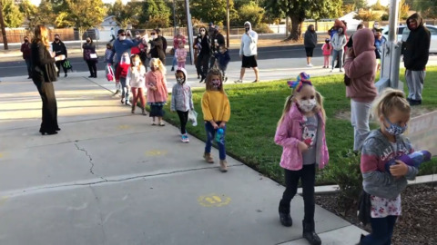 Baby steps. Turlock Unified resumes in-person with just TK and kindergarten students