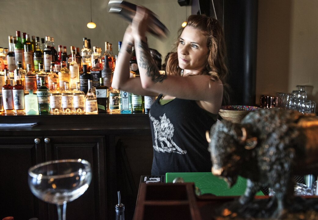 Cocktails the old-fashioned way, and some history, offered at Modesto's newest bar