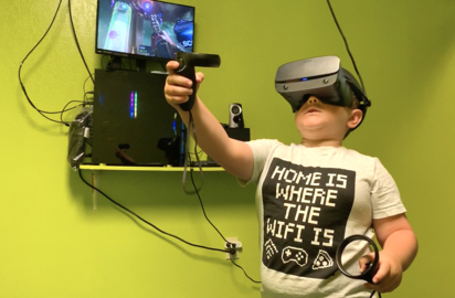 Drop kids off on an alien planet at Modesto's new gaming center, complete with VR room