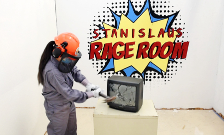 Stressed out? Who isn't. Smash it all away at Salida's new Stanislaus Rage Room