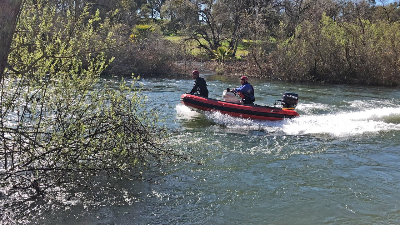 Girl missing in Stanislaus River near Knights Ferry CA