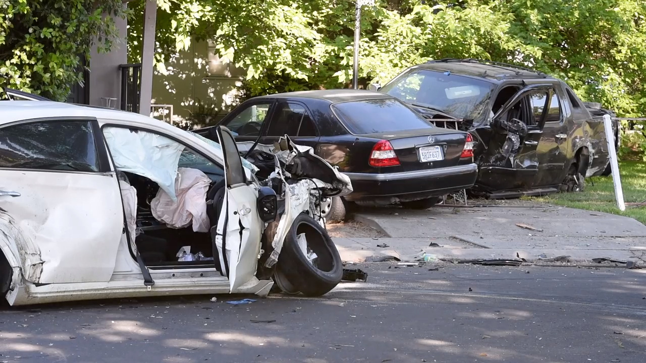 Arrested driver ID'd in Modesto crash that ejected child