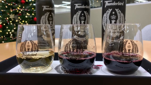 What's the word? Gallo's Thunderbird wine is back and ready to rock and roll