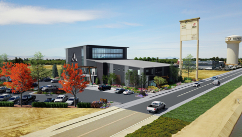 That new massive building in Ripon going up off Highway 99? Here's what's going in.