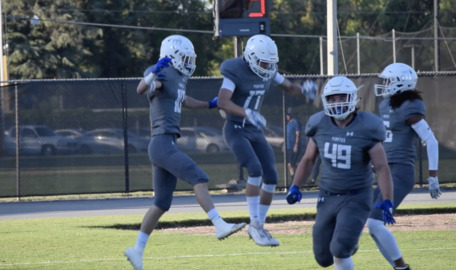 The defense struggled the entire quarter but still made the play to seal MJC's win.