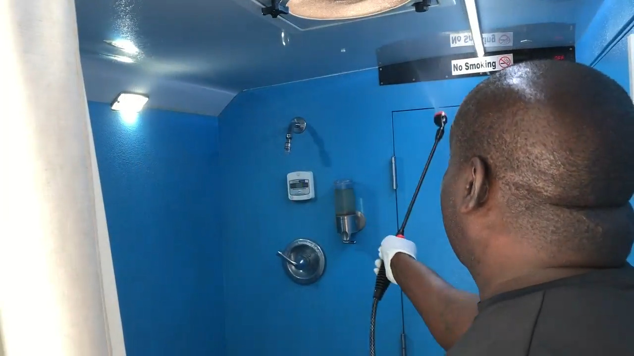 Modesto Cleansing Hope Shower Shuttle reopens. What it's doing to protect users' health