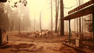 Donnell Fire Continues On