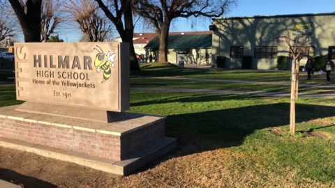 Hilmar High students happy to be on campus