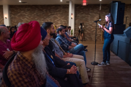 In wake of attacks, Sikh-led town hall urges unity and awareness