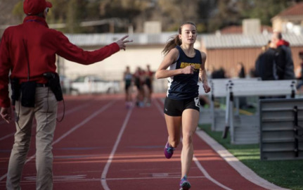 A 23-year old school record was broken by a Turlock freshman on Wednesday.