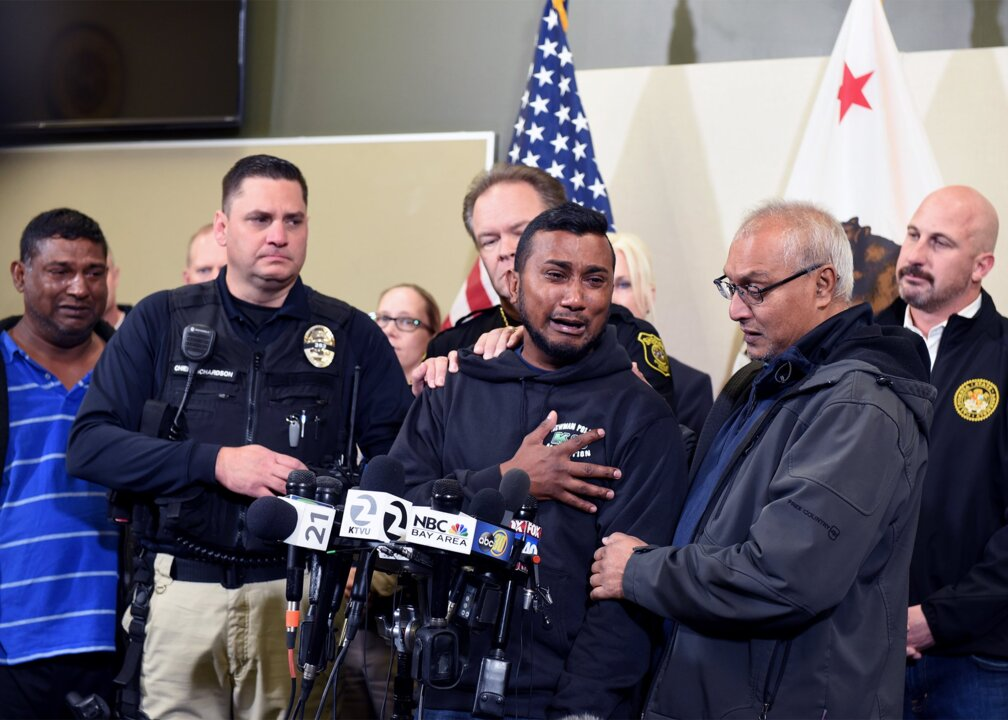 Arrest made in Newman, CA, cop shooting
