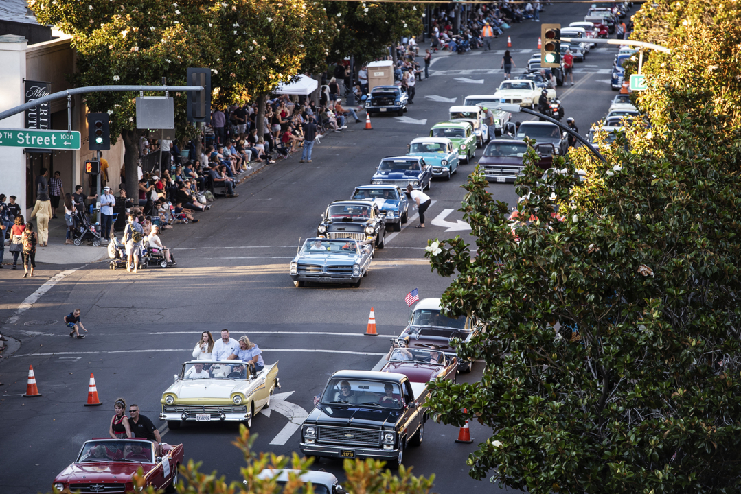 Modesto celebrates classic cars with the biggest Graffiti parade to date