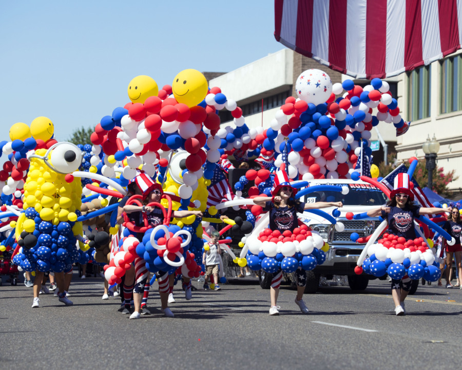 Parade, festival celebrate Fourth of July in Modesto