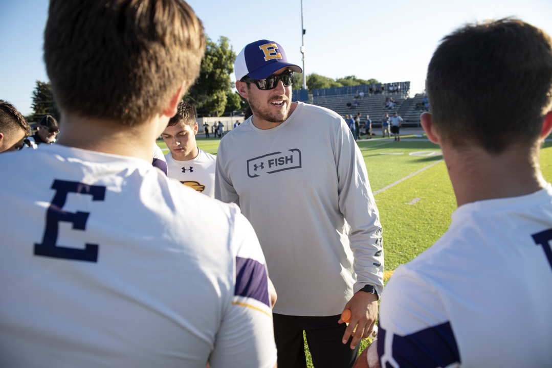 How outside noise is not affecting a deep and talented Escalon football team.