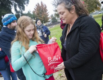Blessing Bags for homeless are filled with essentials — and a little girl's giving spirit