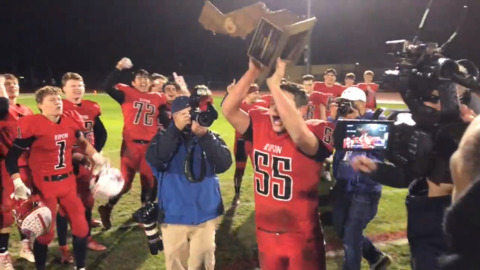 Watch highlights of Ripon's 31-28 win over Highland in state 4-AA title game