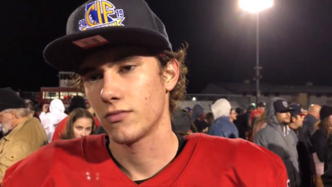 Watch reaction from Ripon coach, players after state title game victory