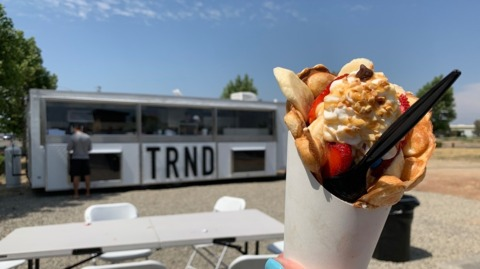 Food, but make it fashion. Turlock's new TRND trailer brings trendy eats to valley