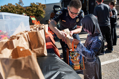 Oakdale's tainted Halloween candy was a hoax, police say. Suspect is arrested