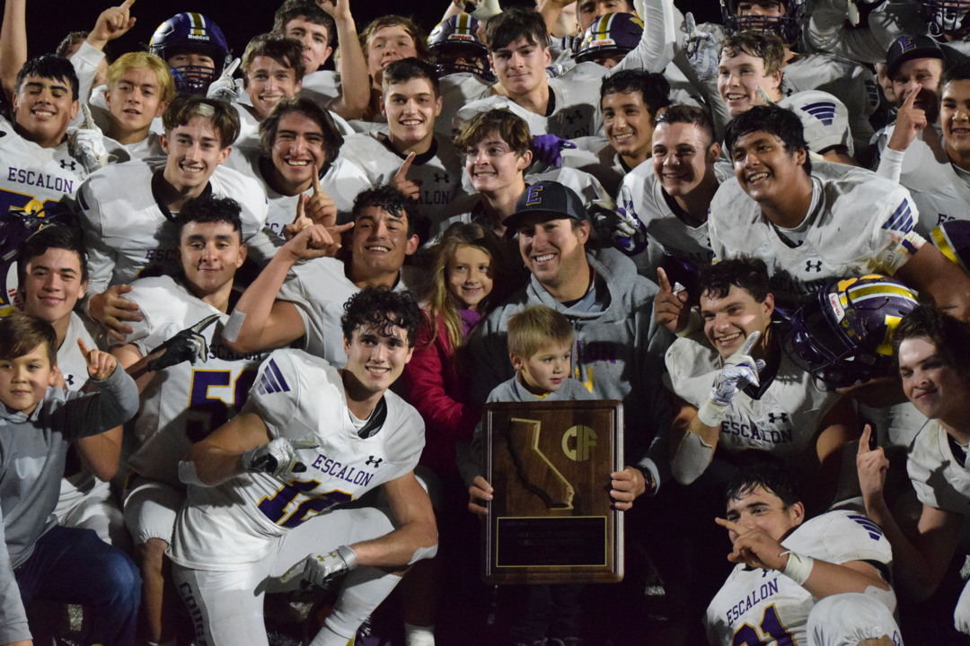 Escalon uses strong second-half performance to beat Pleasant Valley in NorCal final
