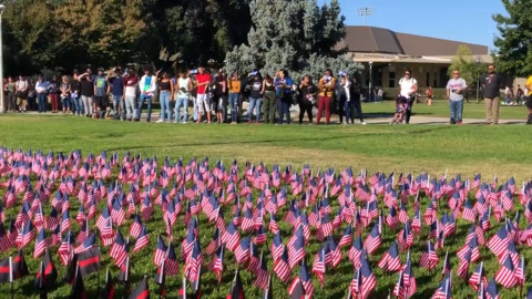 18 years after Sept. 11 attacks, Modesto students honor victims, share message of unity
