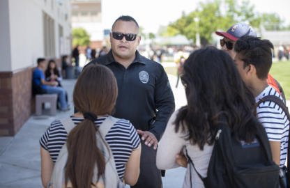 'Cops weren't so nice,' a Ceres student felt. This officer changed that outlook