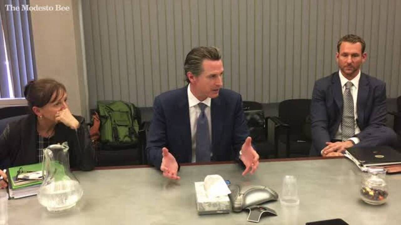 Modesto is Ground Zero for those offended by Newsom's death