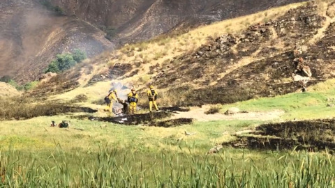 Update: Rock Fire has burned more than 1,000 acres west of Patterson