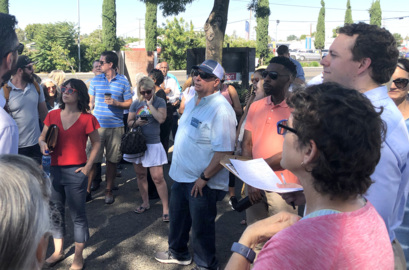 Walk through downtown Modesto highlights its successes, potential