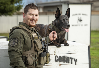 Good dog! Watch Stanislaus K-9 that competes on television show next month