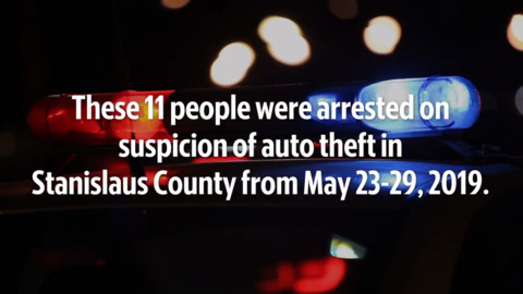 Check out the Stanislaus County auto theft from May 23-29