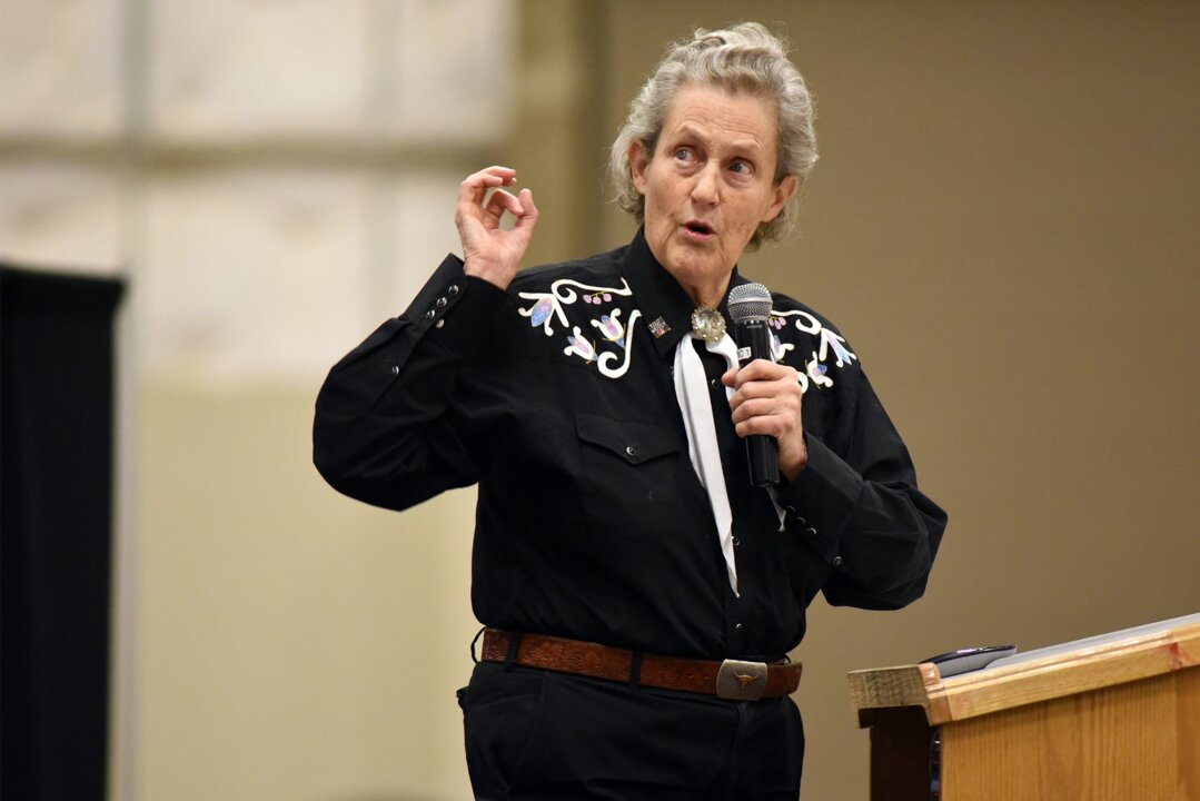Temple Grandin offers hope for fellow autistic people in