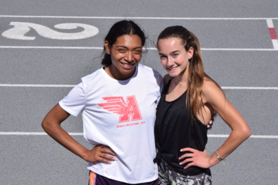 They are going together. Two Gregori athletes prepare for first CIF State Track Meet.