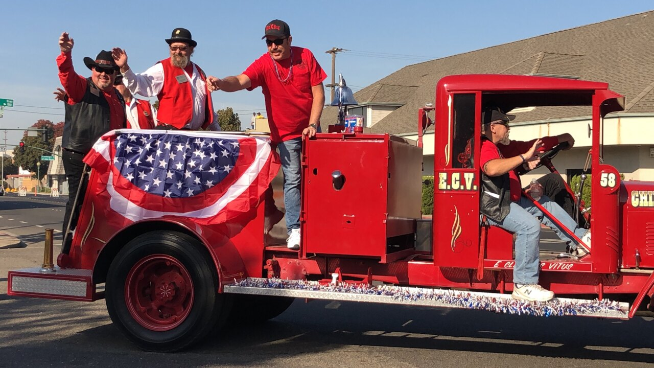 Modesto honors its veterans with parade, ceremony