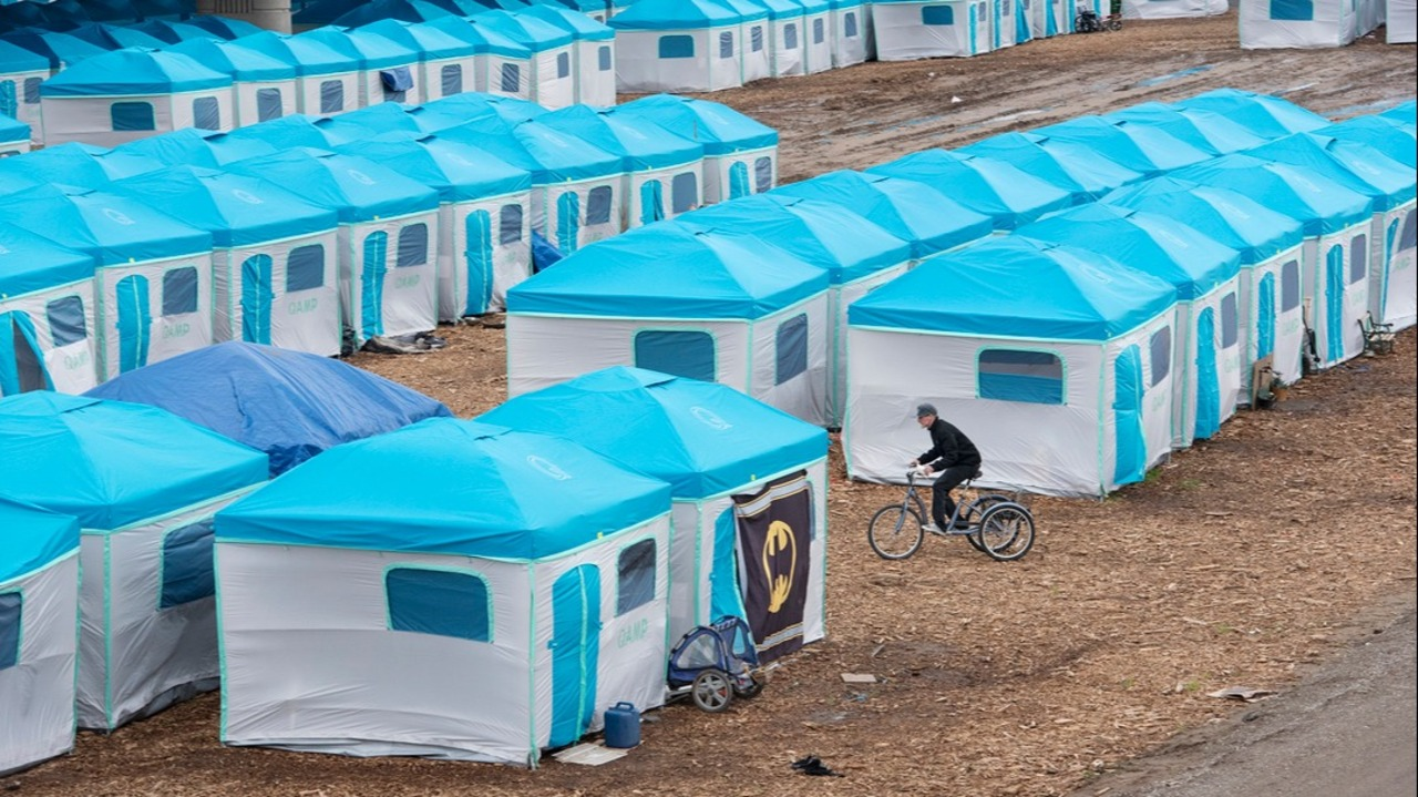 Officials visit Modesto CA tent city in search of answers